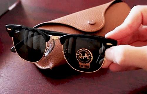 4cb3265a8 Saiba como identificar quando um Óculos Ray-Ban é Original